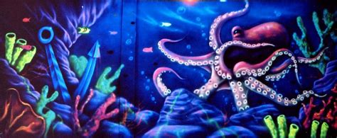 blacklight wall murals 28 blacklight wall murals artist paints rooms with murals that glow blacklight