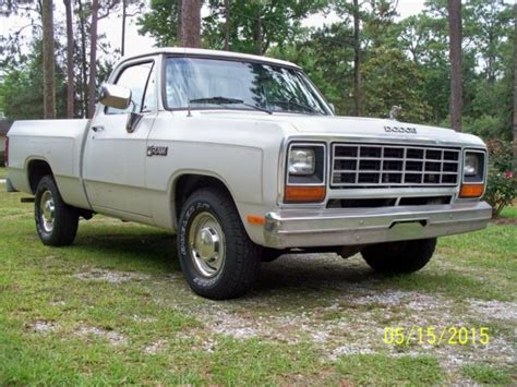 1984 dodge truck classic 1984 dodge ram d100 1 2 ton shortbed truck