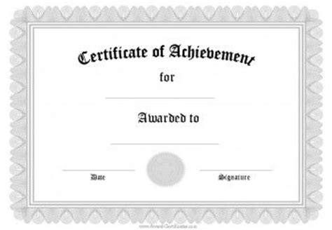 17 Best Ideas About Free Certificate Templates On Pinterest Templates Free Banner Templates Editable Certificate Of Achievement Template