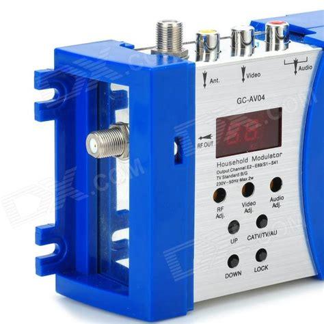 modulator skyview av to rf gc av04 household wired tv modulator av rf converter
