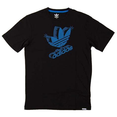 Tshirt Adidas Cloth adidas originals 3d retro logo t shirt black mens t