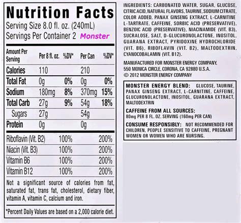 energy drink ingredients energy drinks ingredients johny fit