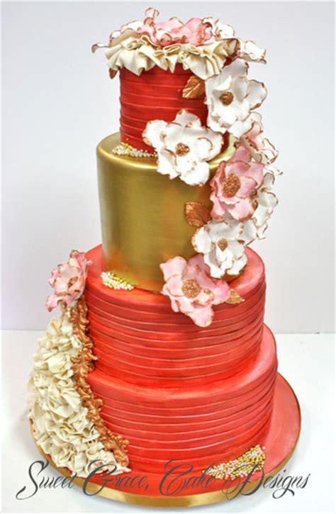 New Wedding Cake Designs by Sweet Grace Cake Designs New York Ny Wedding Cake