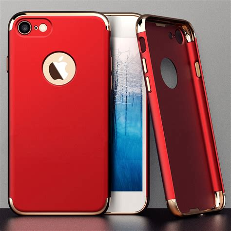 Iphone 55s Electroplating High Class for apple iphone 7 luxury plating ultra thin pc back cover alex nld