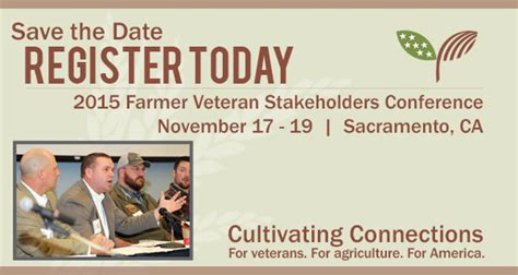 2015 Mba Veterans Conference Schedule by Farmer Veteran Stakeholders Conference 2015 Beginning