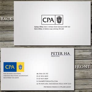 cpa business cards template ready business cards cpa designs choice image card design and