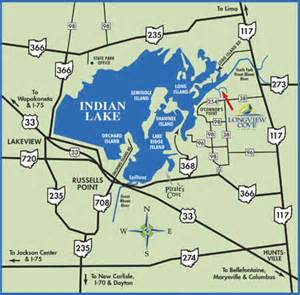 Indian Lake Ohio Map by Longview Cove Indian Lake Custom Home Builder