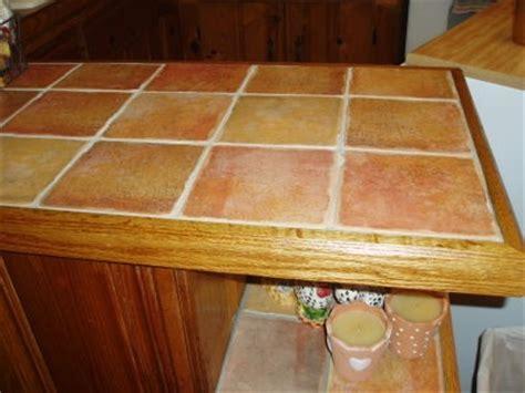 tile bar tops terracotta counter tops kitchen pinterest
