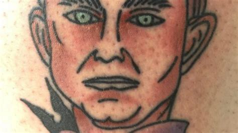 clemson tattoo seems a clemson fan got a of dabo swinney s