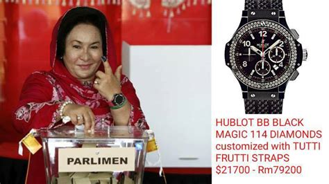 mywatch papar jam tangan mewah ahli politik