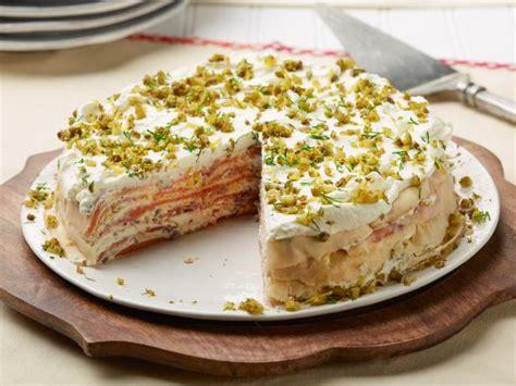Crepe Kitchen by Smoked Salmon Crepe Cake Recipe Food Network Kitchen
