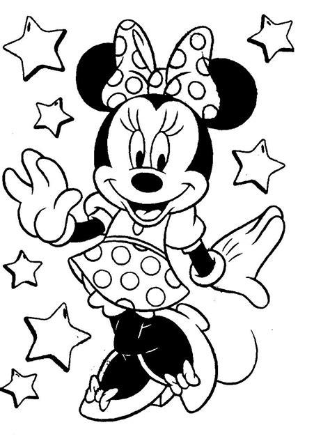 ausmalbilder mini maus inspirierend minnie mouse