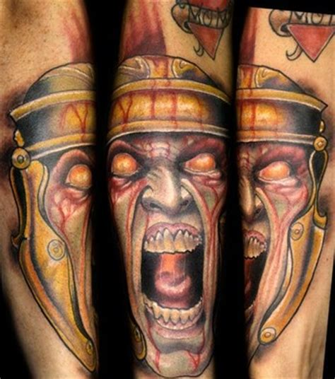 roman soldier tattoo by sean herman tattoonow