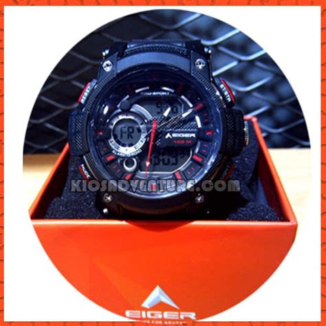 Harga Jam Tangan Merk Eiger jam tangan eiger iyw0104 analog digital