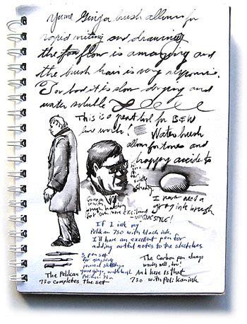 sketch book font sketch text