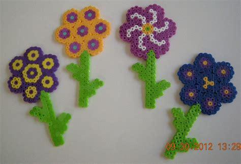 perler bead flower flowers perler bead 8 00 via etsy gyerekeknek