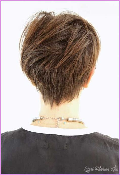 Haircut Pixie On Top Long In Back | long pixie haircut back view latestfashiontips com