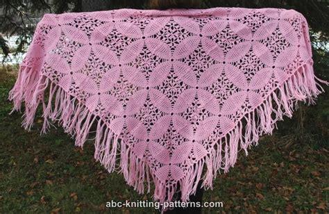 Pashmina Motif Abstrak Pink pink square motif shawl allfreecrochet