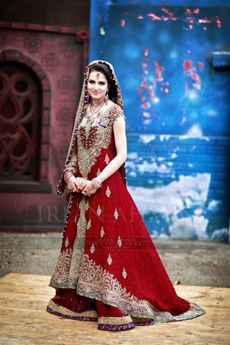beautiful red pakistani bridal dress real pakistani