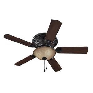 Bronze Ceiling Fan With Light Shop Harbor 52 In Specialty Bronze Ceiling Fan With Light Kit At Lowes