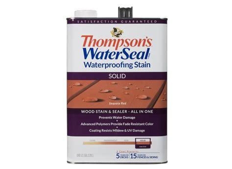 thompsons waterseal waterproofing solid home depot wood