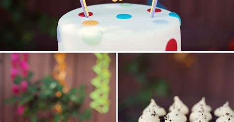 Polka Dot Rainbow Paint Themed Polka Dot Rainbow Paint Themed Birthday Rainbow