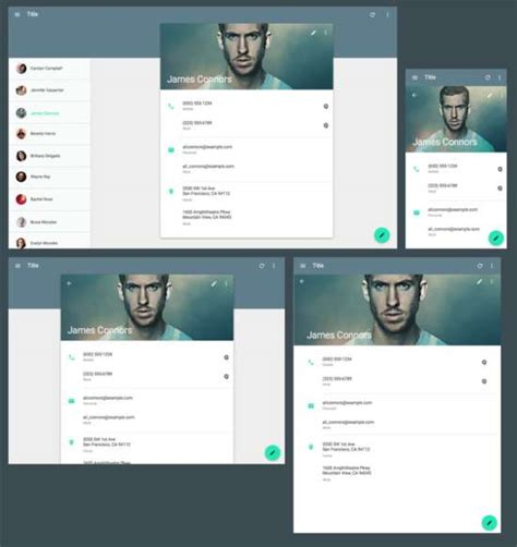 Material Design Website Template 15 Free Material Design Website Templates Xdesigns