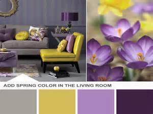Yellow And Purple Living Room by Yellow Purple And Grey Living Room Modern House