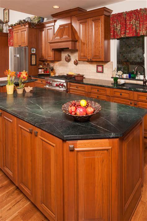 Soapstone Countertops Denver Green Soapstone Countertop Traditional Kitchen