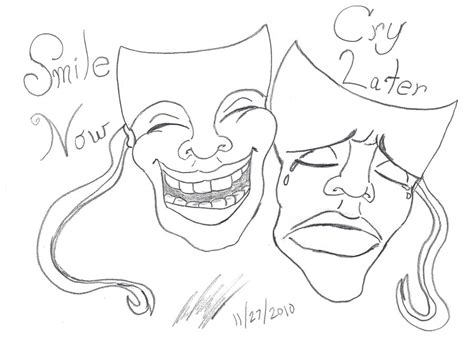 laugh now cry later coloring coloring pages