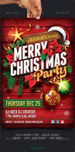 christmas party flyer by creativeartx graphicriver
