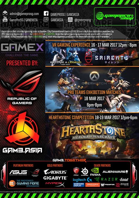 Ghamis Astika asia at gamex brochures from it show 2017 singapore