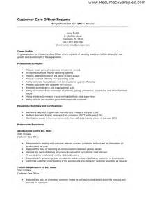 Resume Template For Customer Service Representative by Customer Service Representative Resume Template For