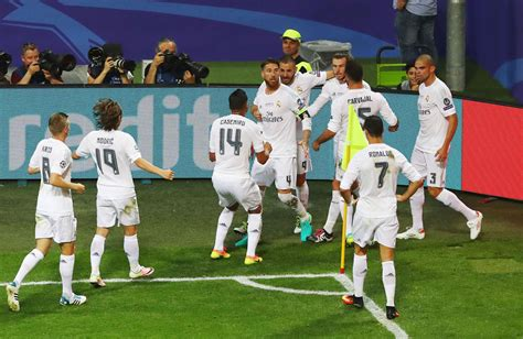 Be A Real the chions league between real madrid and