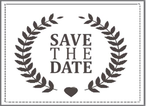 Save The Date St 4 I Do Inspirations Wedding Venues Suppliers South Africa Save The Date Rubber St Template
