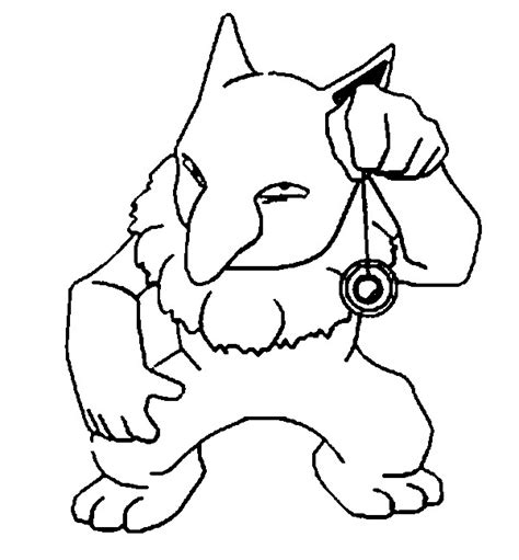 pokemon coloring pages of cubone pokemon cubone coloring pages images pokemon images