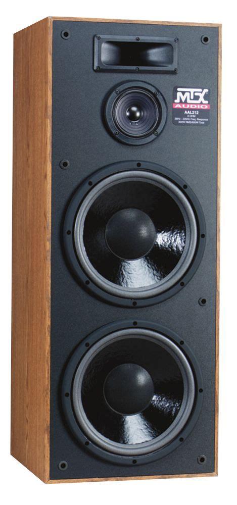 100 Floors Level 47 Tower by Mtx Audio Aal212 Floor Standing Speakers Vintage