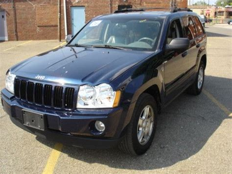 navy blue jeep grand cherokee find used 2006 jeep grand cherokee laredo sport utility 4