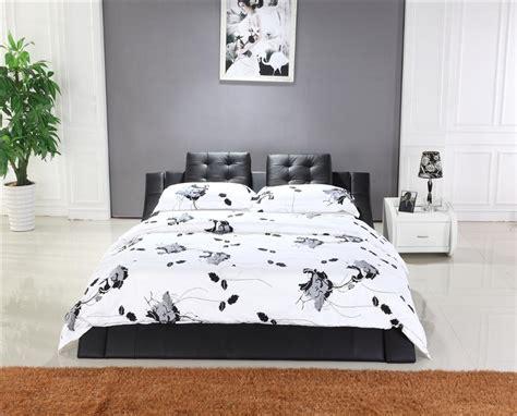 bed headrest mybestfurn king size bed top grain leather headrest soft