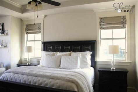 Bedroom Shades by Windows Diy Shades And Panels Shanty 2 Chic