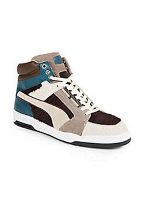 pony hair sneakers slipstream leather pony hair sneakers shoes