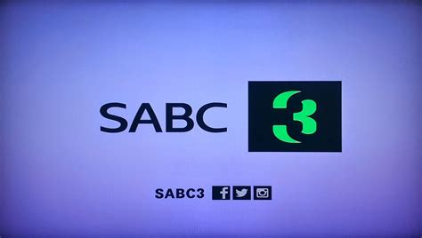s abc tv with thinus huh sabc3 launches new channel logo and