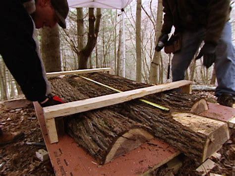 Building Log Furniture by Woodworking Projects Ideas Diy