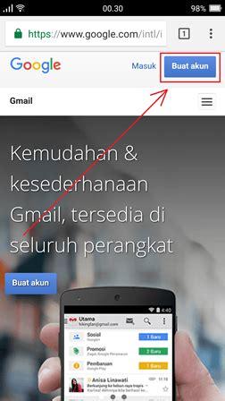 buat akun gmail   hp android iphone  pc