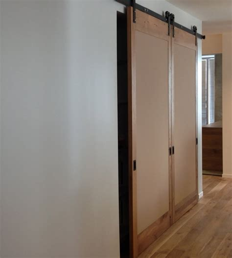 How To Make A Sliding Closet Door Interior Sliding Barn Door The Best Inspiration For Interiors Design And Furniture