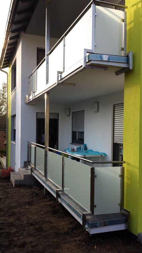 treppengeländer edelstahl glas preise balkongel 228 nder treppengel 228 nder mit glas und holzhandlauf
