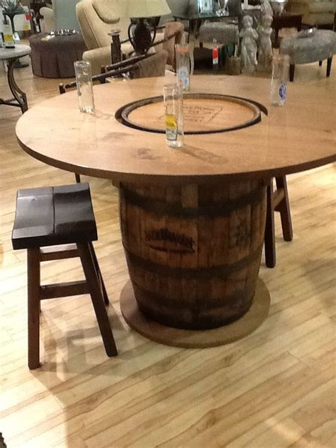 whiskey barrel tables 25 best ideas about whiskey barrel table on