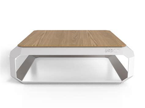 Charmant Table Bar De Salon #6: Black-Citrus_ZEST_Table_Basse_Design_Metal_Inox_Bois_Massif_Front.png