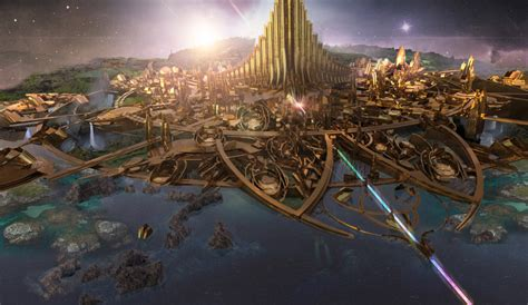 thor movie place astonishing thor concept art by vance kovacs 171 film sketchr