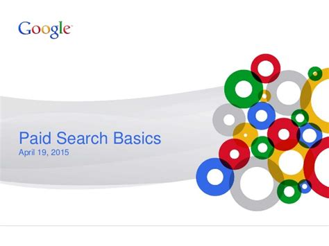 Best Paid Search Paid Search Basics Best Practices